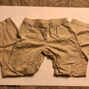 3/$10 // JOE FRESH Linen Blend Pants